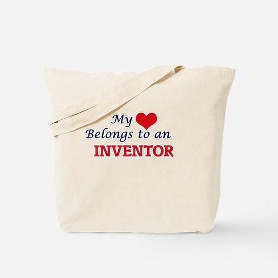 My Heart Belongs to an Inventor Tote Bag