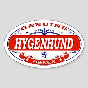HYGENHUND Oval Sticker
