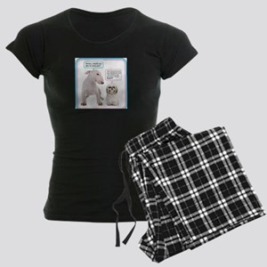 Dog humor Women's Dark Pajamas