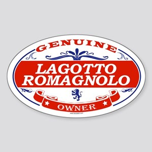 LAGOTTO ROMAGNOLO Oval Sticker