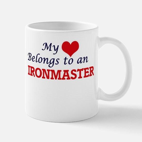 My Heart Belongs to an Ironmaster Mugs