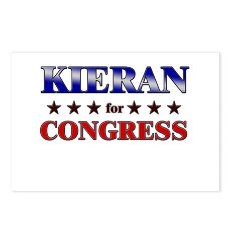 KIERAN for congress Postcards (Package of 8)