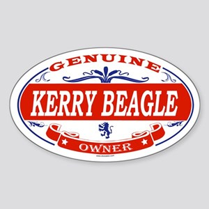 KERRY BEAGLE Oval Sticker