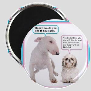 Dog humor Magnets