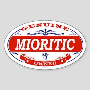 MIORITIC Oval Sticker