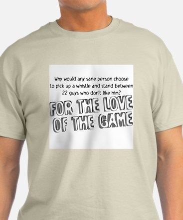 Love the Game Natural Color T-Shirt