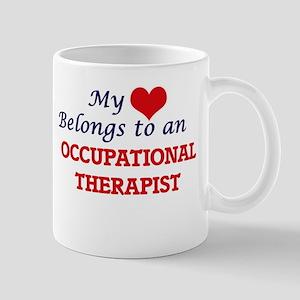My Heart Belongs to an Occupational Therapist Mugs