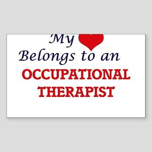 My Heart Belongs to an Occupational Therap Sticker