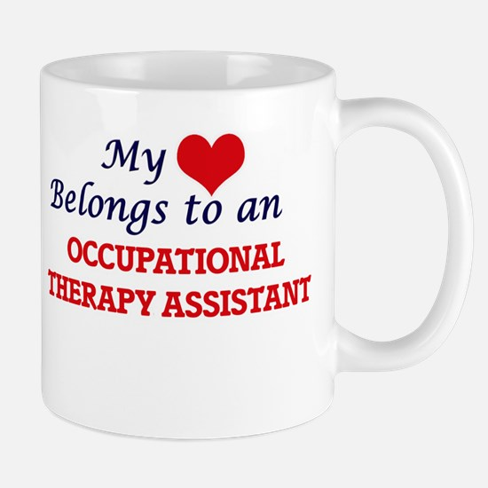 My Heart Belongs to an Occupational Therapy A Mugs
