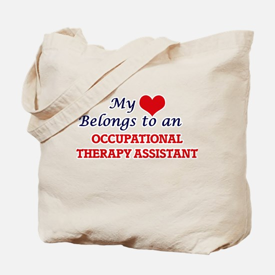 My Heart Belongs to an Occupational Thera Tote Bag