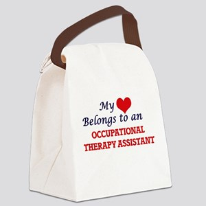 My Heart Belongs to an Occupation Canvas Lunch Bag