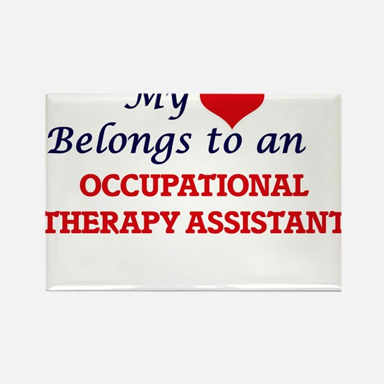 My Heart Belongs to an Occupational Therap Magnets