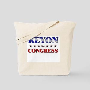 KEYON for congress Tote Bag