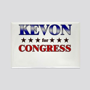 KEVON for congress Rectangle Magnet