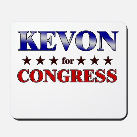 KEVON for congress Mousepad