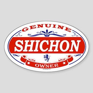 SHICHON Oval Sticker