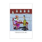 Gold-Cut Oats Mini Poster Print