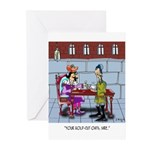 Gold-Cut Oats Greeting Cards (Pk of 10)