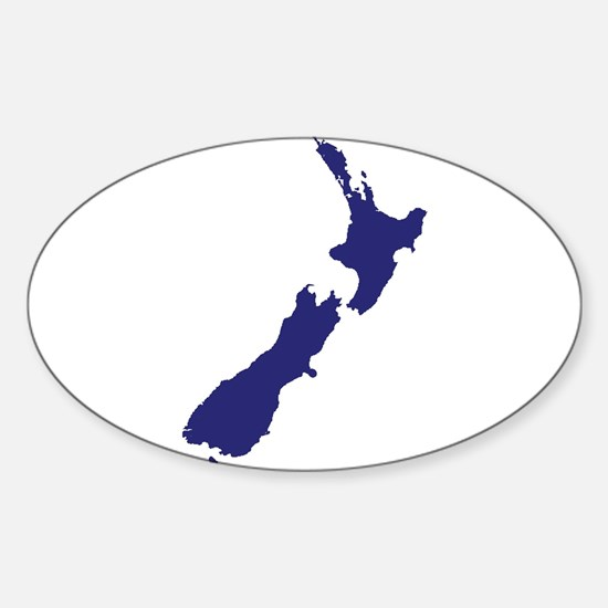 New Zealand Silhouette Decal