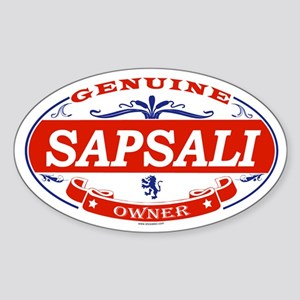 SAPSALI Oval Sticker