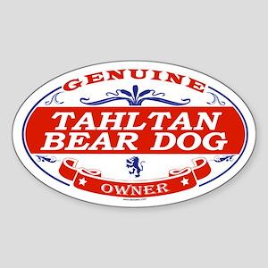 TAHLTAN BEAR DOG Oval Sticker