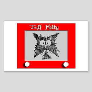 SKETCH-A-KITTY Rectangle Sticker