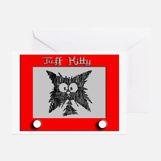 SKETCH-A-KITTY Greeting Cards (Pk of 20)