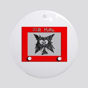 SKETCH-A-KITTY Ornament (Round)