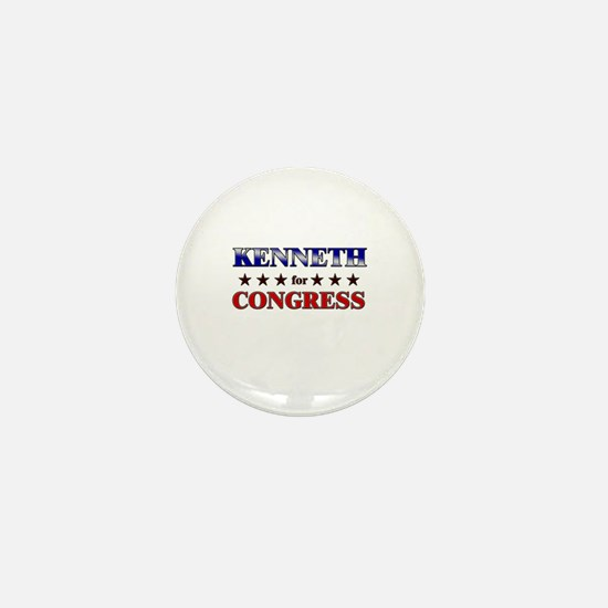KENNETH for congress Mini Button