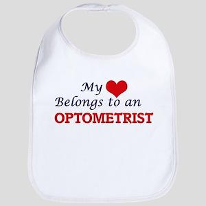 My Heart Belongs to an Optometrist Bib