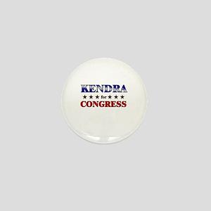 KENDRA for congress Mini Button