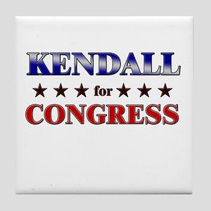 KENDALL for congress Tile Coaster