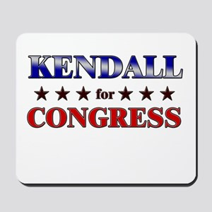 KENDALL for congress Mousepad