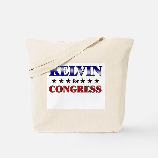 KELVIN for congress Tote Bag