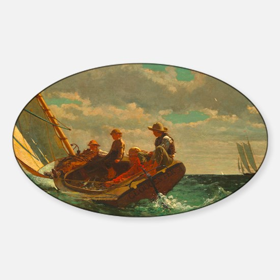 Breezing Up by Winslow Homer Decal
