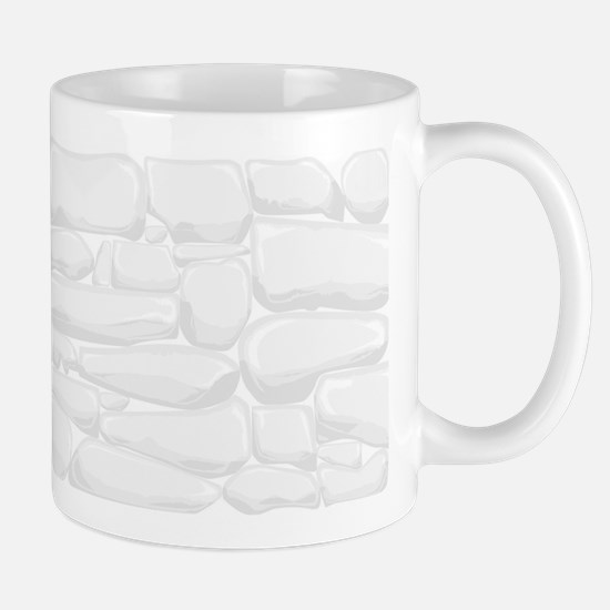 Dry Stone Wall Background Mugs