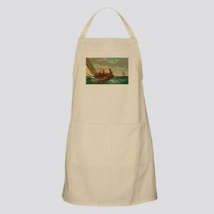 Breezing Up by Winslow Homer Apron