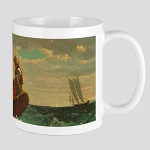 Breezing Up by Winslow Homer Mugs