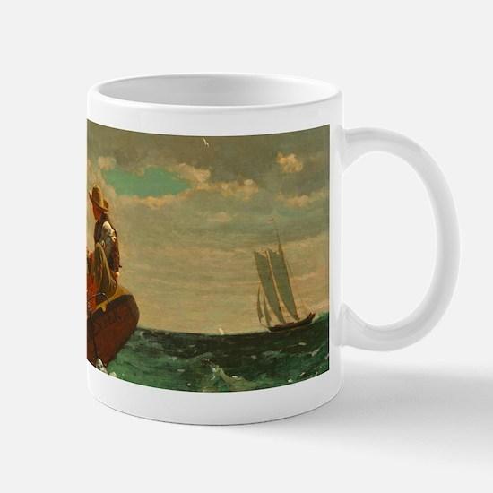 Breezing Up by Winslow Homer Mugs