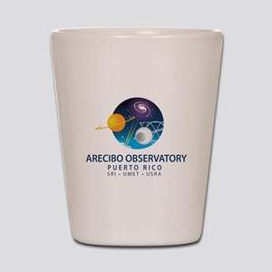 Arecibo Observatory Shot Glass