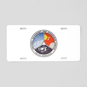 Natl. Astronomy Ctr Logo Aluminum License Plate
