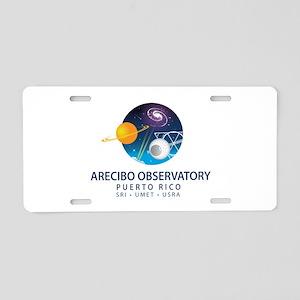 Arecibo Observatory Aluminum License Plate