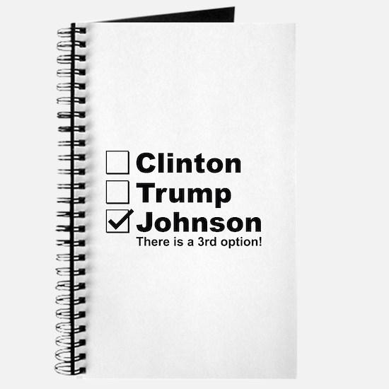 Johnson 3rd Option Journal