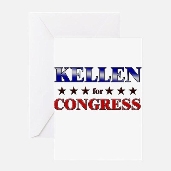 KELLEN for congress Greeting Card