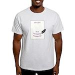 Incomplete Manuscript Light T-Shirt