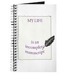 Incomplete Manuscript Journal