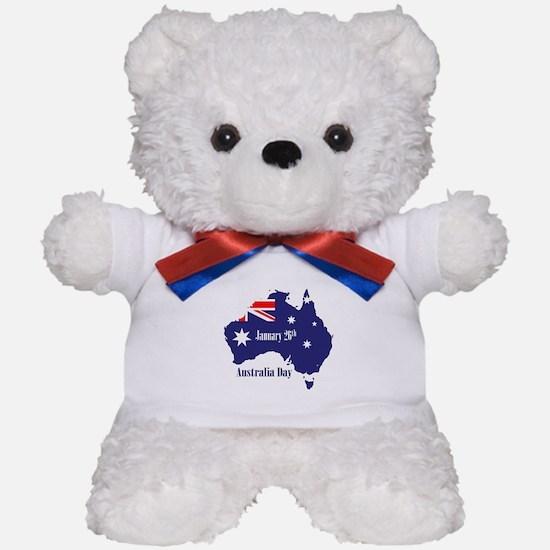 Happy Australia Day Teddy Bear