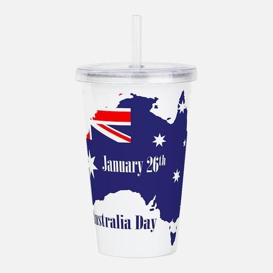 Happy Australia Day Acrylic Double-wall Tumbler