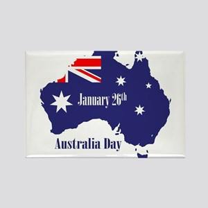 Happy Australia Day Magnets