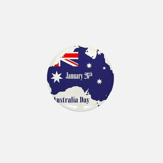 Happy Australia Day Mini Button (100 pack)